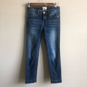 Girls Hudson Skinny Jeans 12 EUC
